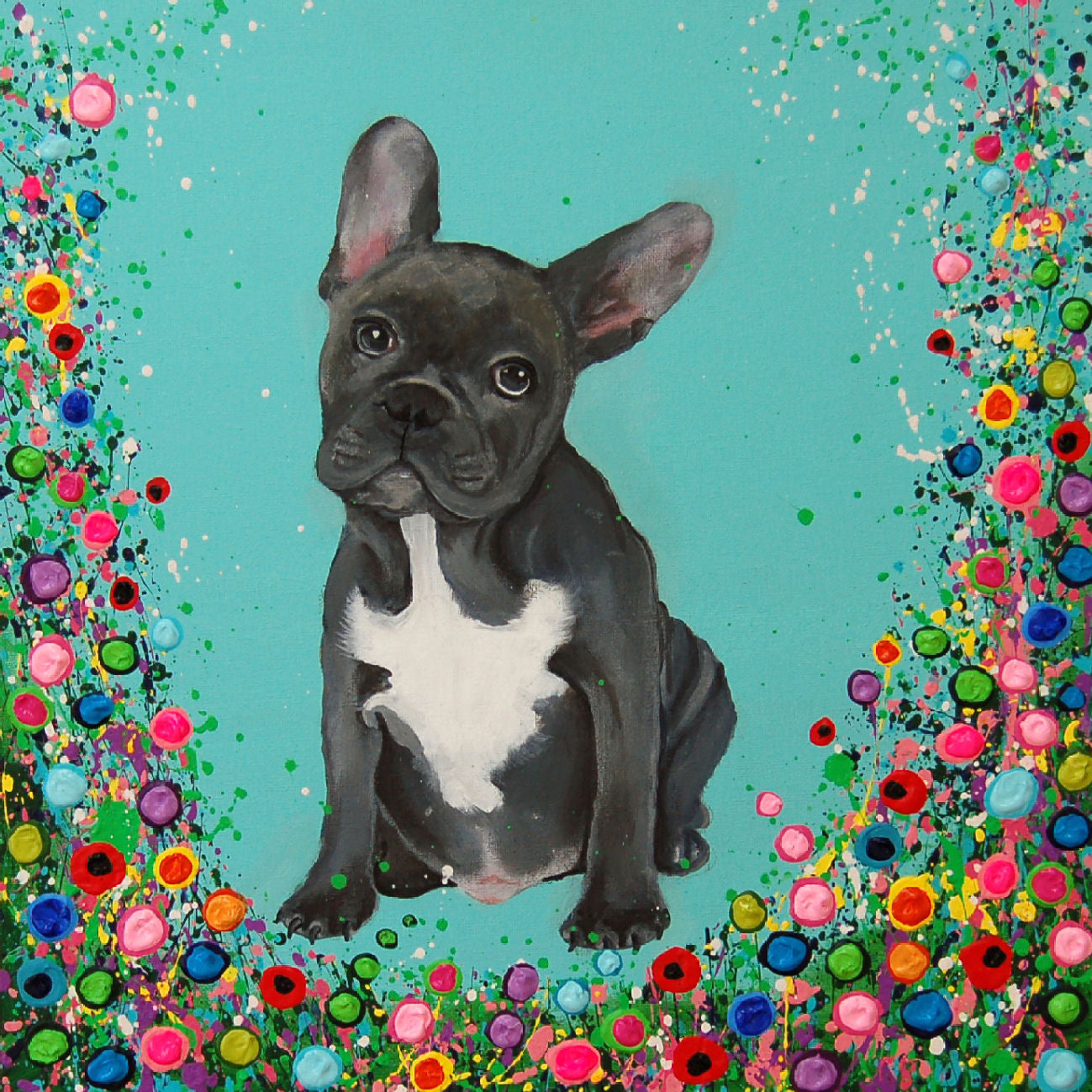 French Bull Dog Fine Art Print