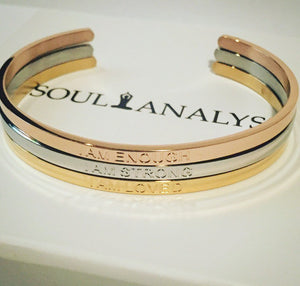 THE FULFILMENT SET (GOLD, SILVER, ROSE GOLD)