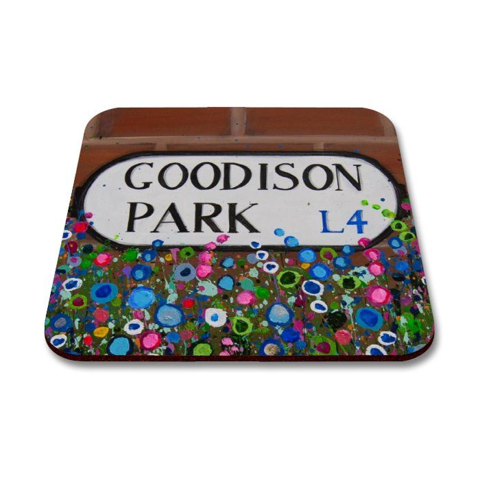 Goodison Park Coaster