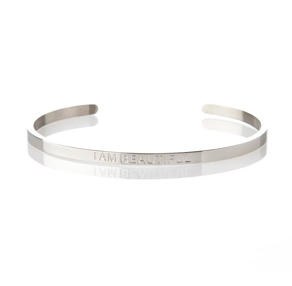 I AM BEAUTIFUL – AFFIRMATION BRACELET