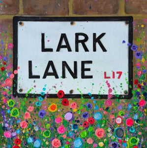 Lark Lane, Liverpool Print