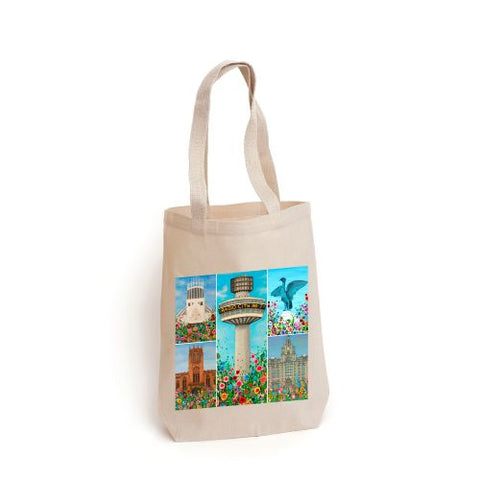 Liverpool Montage Tote Bag