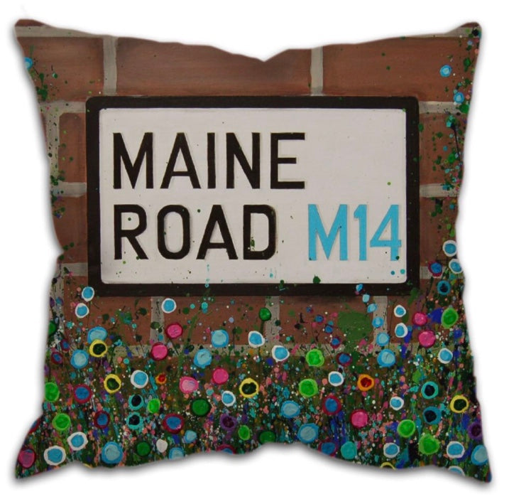 Maine Road stadium cushion