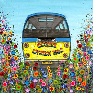 Magical Mystery Tour Bus, Liverpool, Print