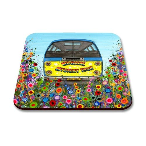 Magical Mystery Tour Bus Coaster