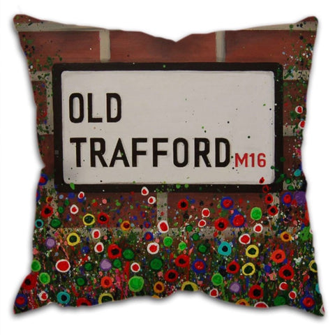 Old Trafford stadium cushion