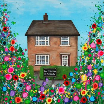 Jo Gough Art Pauls Childhood Home, Liverpool, Print