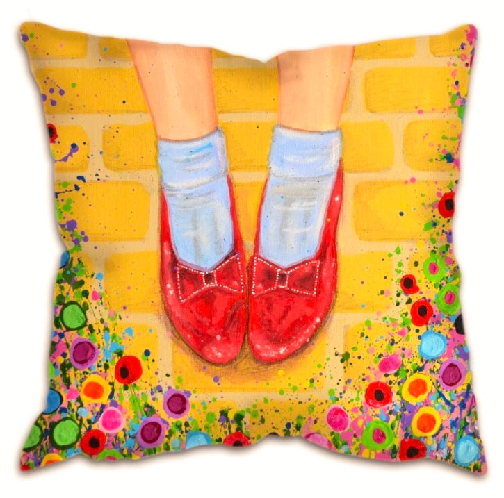 Ruby slippers cushion, Wizard of Oz Collection
