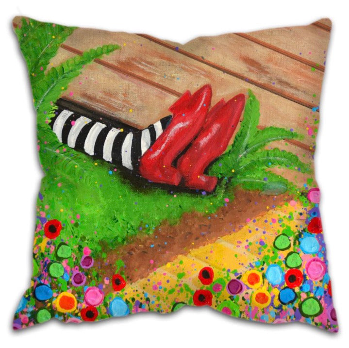 The Ruby slippers cushion, Wizard of Oz Collection