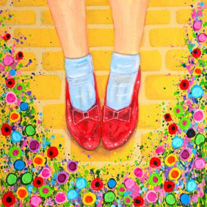 Jo Gough Art Ruby Slippers Print