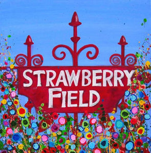 Strawberry Fields, Liverpool, Print