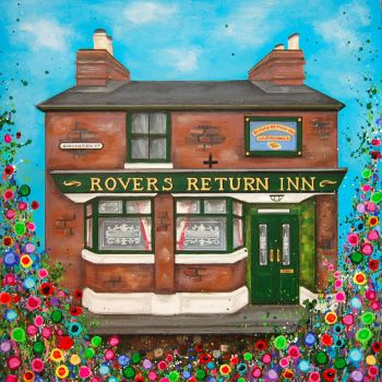 The Rovers Return, Manchester Print