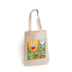 Wizard of Oz Montage Tote Bag
