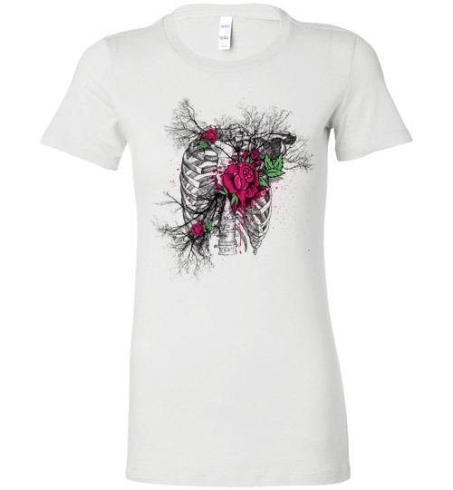 Heart of Roses (Ladies Bella style) - Medical Swagg