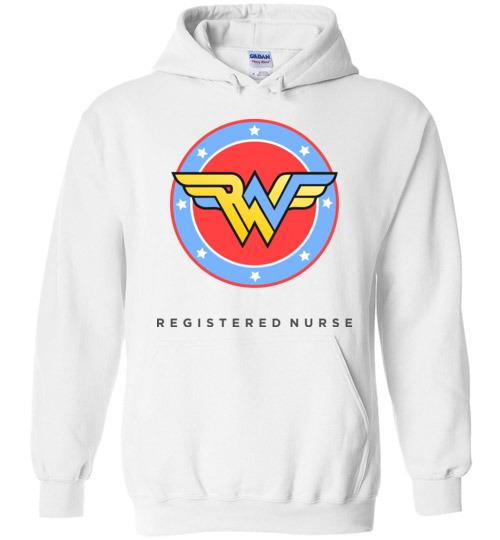 Wonder Nurse RN hoodie - Medical Swagg
