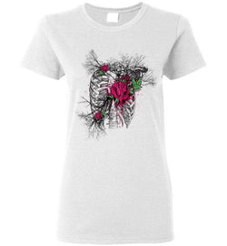 Heart of Roses (Ladies Short Sleeve) - Medical Swagg