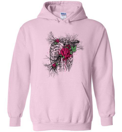 Heart of Roses Hoodie - Medical Swagg