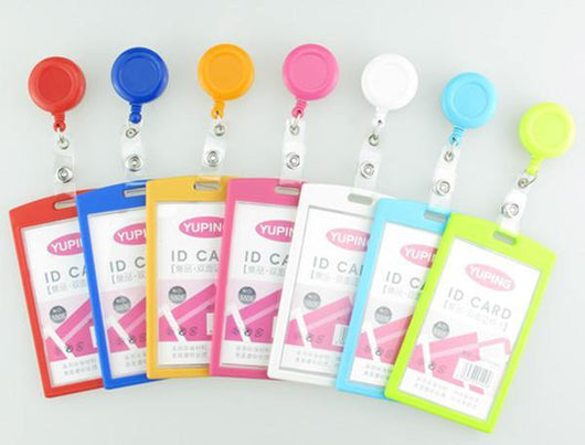 Cute Pascal retractable reel Id card case - Medical Swagg