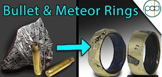 Making a Bullet Shell and Meteorite Ring with The King of Random