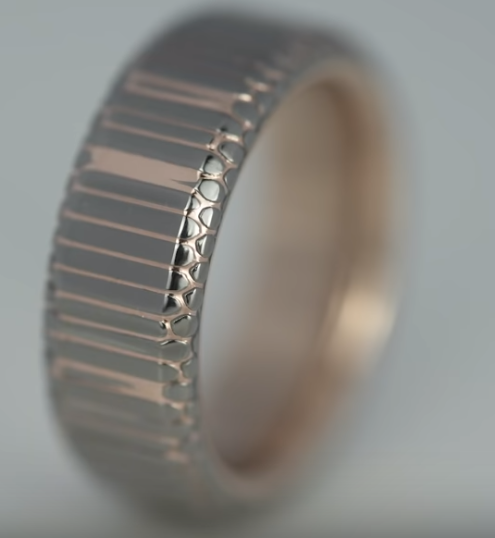 Best Ring Ever: Superconductor & 18k Rose Gold Custom Ring