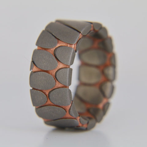 Tilted superconductor ring as seen on YouTube