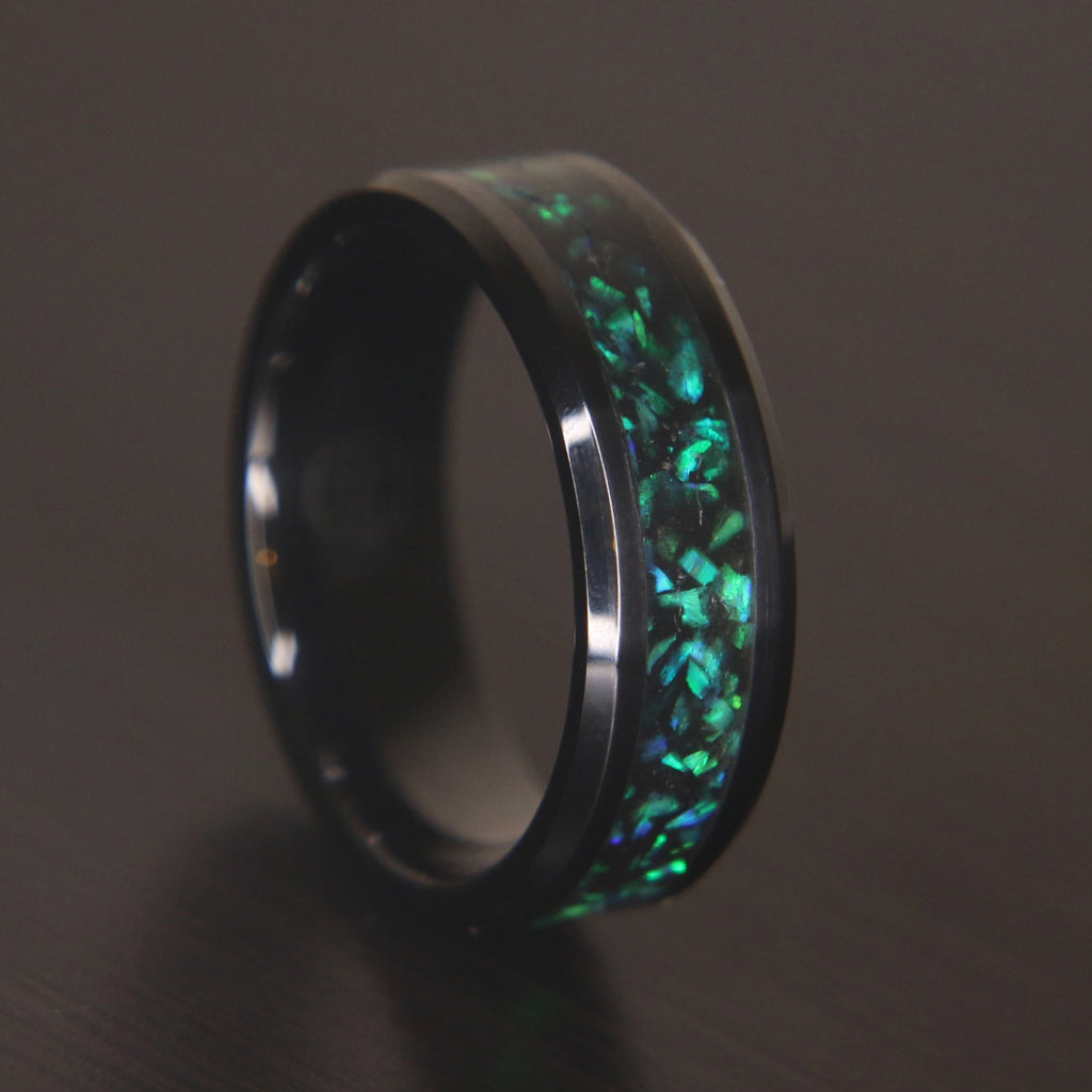 The Kaiju Black Ceramic Ring