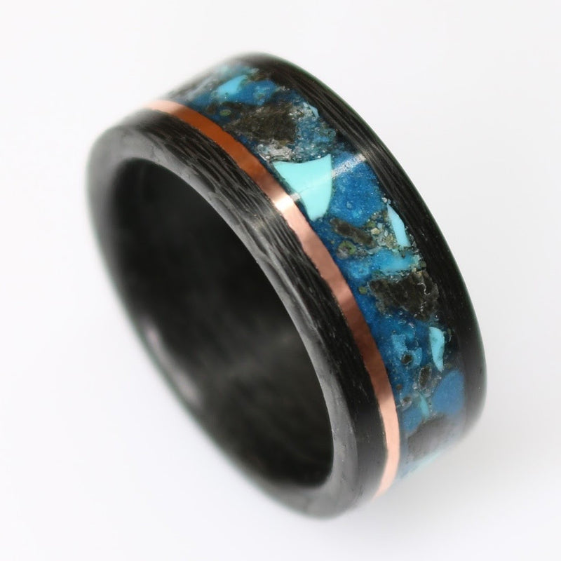 Carbon Fiber Glowstone Ring