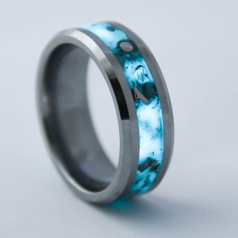 Tungsten Glowstone Ring Handmade Rings Patrick Adair