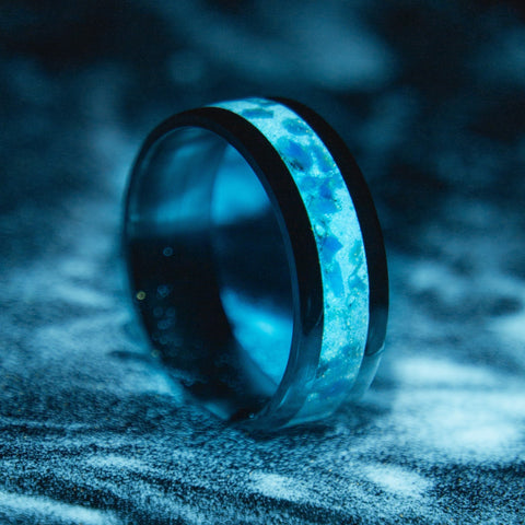 Titanium Glowstone Ring