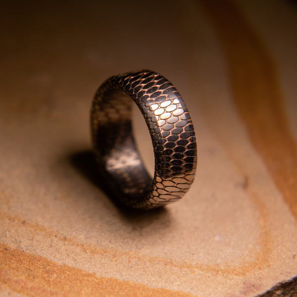 Etched Tilted Superconductor Ring 2.0