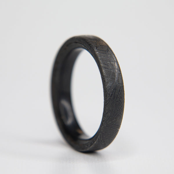 Meteorite Stackable Ring - 4mm