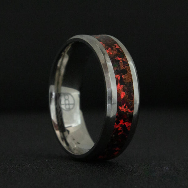 Lava Rock Glowstone Ring