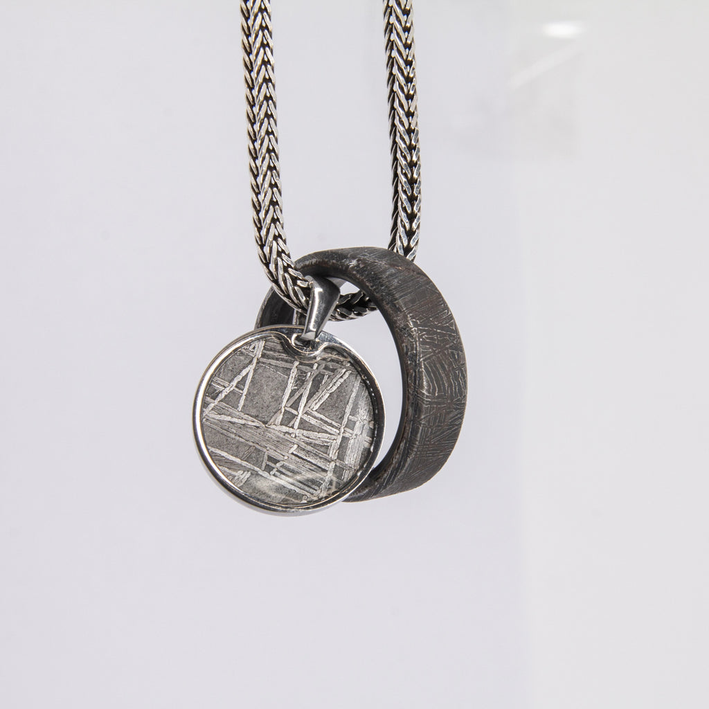Meteorite Ring and Pendant Bundle