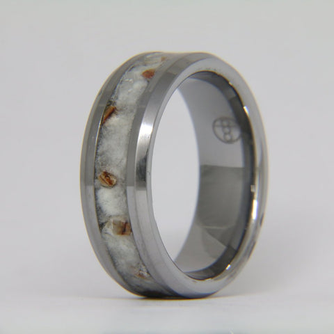 The Siberian Mammoth Tungsten Ring
