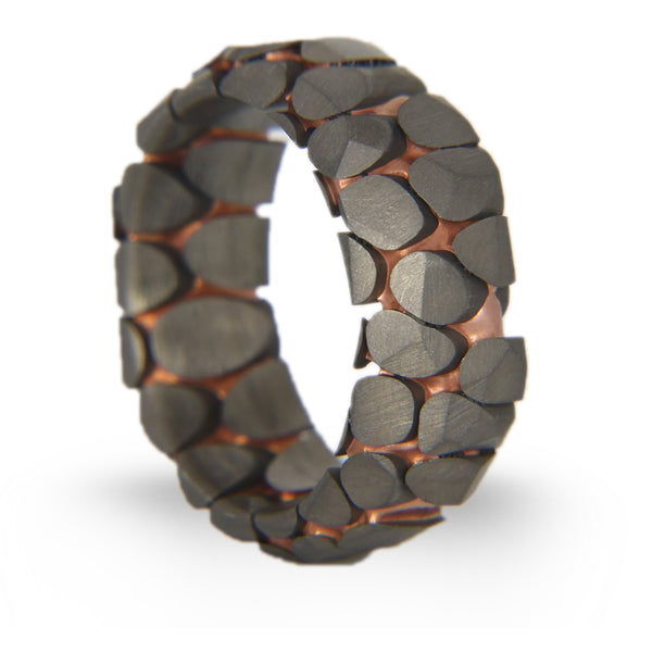 Obsidian Superconductor Ring