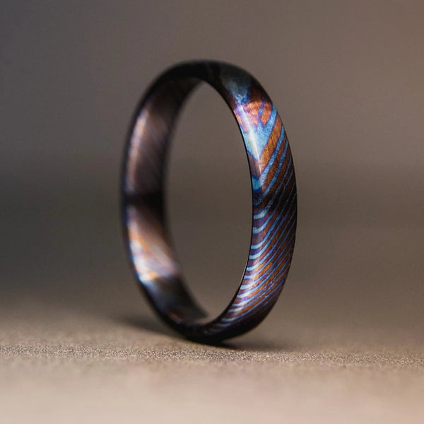 Timascus Stackable Ring - 3 mm