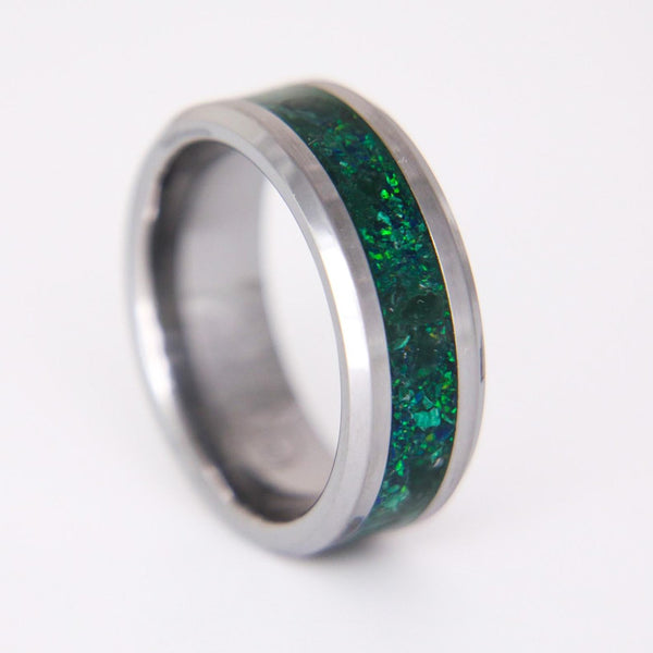 The Evergreen Cobalt Chrome Ring