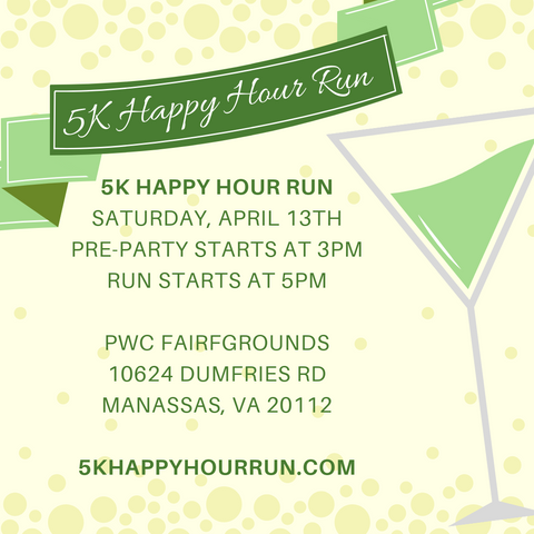 5k Happy Hour Run