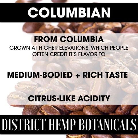 District Hemp Columbian CBD Coffee