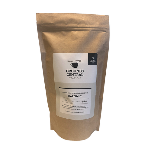 District Hemp CBD Whole Bean Coffee - Hazelnut