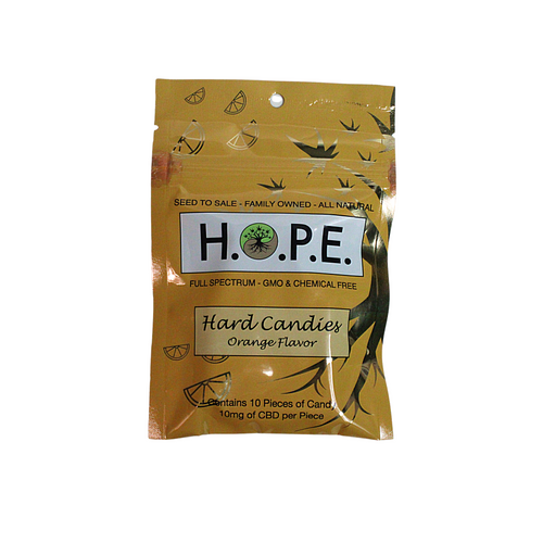 H.O.P.E Orange Hard Candy