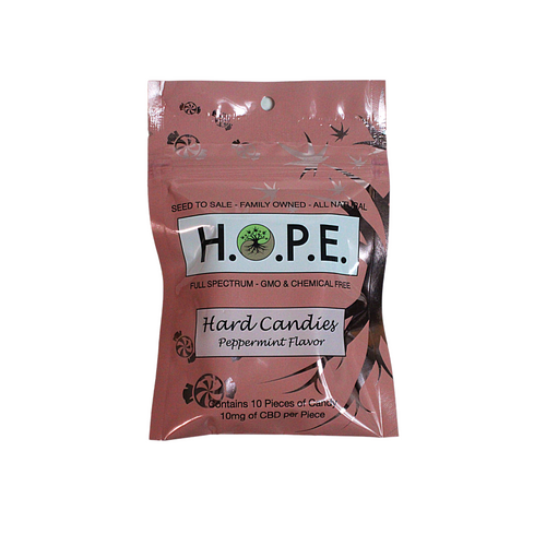 H.O.P.E Peppermint Hard Candy