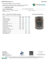 Load image into Gallery viewer, District Hemp + Elegant Scent Candle Co Massage Candles - Black Sea