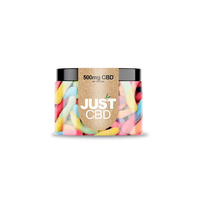 JUST CBD - Sour Worm Gummies