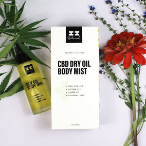 I+I Botanicals Dry Oil Body Mist