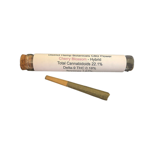 District Hemp - Cherry Blossom Hemp Pre-roll