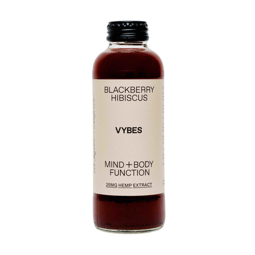 Vybes Blackberry Hibiscus CBD Drink
