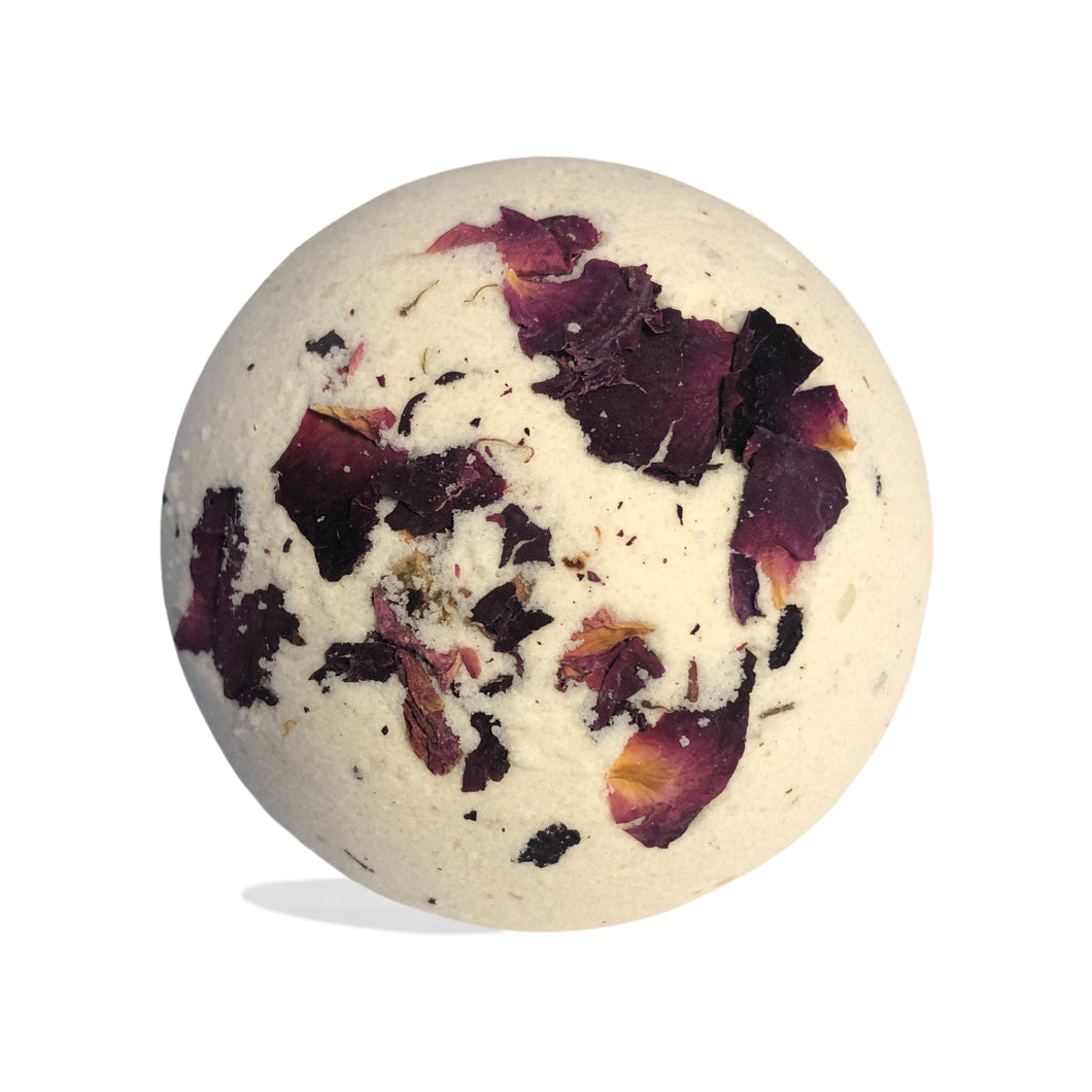 District Hemp Isolate Bath Bomb - Intimate (Inspiring Roses)