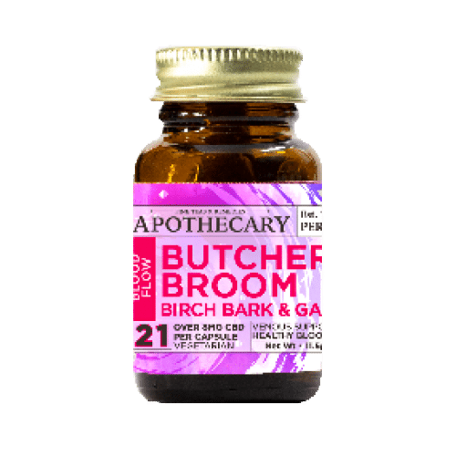 Brother's Apothecary Blood Flow | CBD + Garlic, Butcher's Broom & Birch Bark