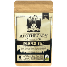 Load image into Gallery viewer, Brother's Apothecary Breakfast Buzz Hemp CBD Tea
